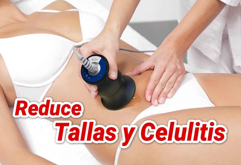 PAQUETE REDUCCI�N DE TALLAS Y CELULITIS